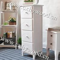 4 Drawer Wood Bedside Night Table Manufactures