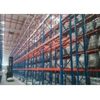 Steel Q235B Heavy Duty Metal Shelving , Industrial Pallet Racks With CE Certificate Manufactures