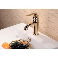 Chrome plated brass single handle bathroom faucet Manufactures