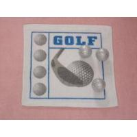 Buy cheap Golf Design Compressed Terry Hand Towel as YT-614 from wholesalers