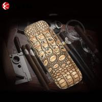Gift For Man Genuine Leather Cigar Case Manufactures