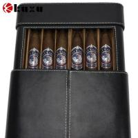 Hot sale 6 cigar leather travel case/humidor factory price Manufactures