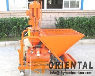 China Dry Ready Mix Plaster Machine