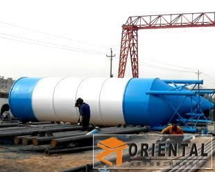 China Welded Cement Silo