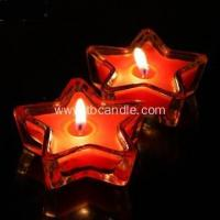 China Star Shape Tealight Candle Colorful Scented Romantic Lovely Gift on sale