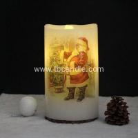 China Perfect flameless LED candle with water fountains on sale