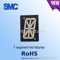 1.0 inch red color 1 digit led display for different uses/7 segment led display