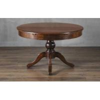 China Modern Solid Wood Dining Room Elastic Round Table, Flod Wood Dining Table Designs for sale on sale