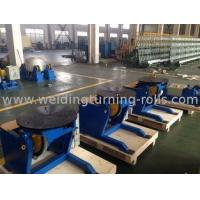 Electric Rotary Welding Positioner Turntable With Manual Tilting And Motorized Rotaion Manufactures