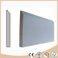 WPC Vinyl Flooring Decorative MDF Skirting board / Baseboard molding for Flooring Manufactures