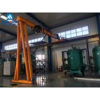 Buy cheap Euro-style Gantry Crane 2t Europe style trackless gantry crane from wholesalers