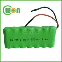 2/3AAA 8.4V 300mAh NIMH Battery Pack Manufactures