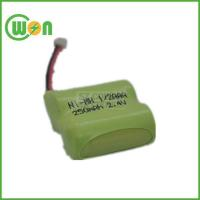 NIMH Battery PACK 1/2AAA 250MAH 2.4V with Connector Manufactures