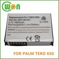 Replacement PDA Battery for Palm Treo 650, Treo 700w, Treo 800 Series Manufactures