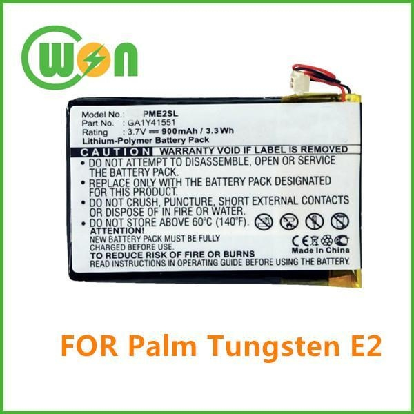 Quality Replacement Battery for Palm Tungsten E2 for sale
