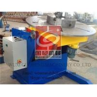 Vessel Welding Positioner Turntable with Servo Motor , CE Certified Manufactures