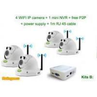 4CH NVR Kits Wireless Cameras for Indoor Home Security System KITS B Manufactures