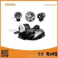 YZL804 1800LM 3* T6 LED most Powerful Rechargeable Black Aluminum LED Bicycle Light Manufactures