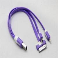 3 in 1 Micro Mini USB Sync Data Charger Cable Manufactures