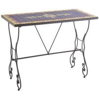 Outdoor Rania Blue Counter Table Manufactures