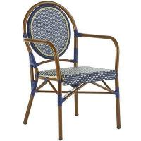 Outdoor Woven Navy Bistro Chair Manufactures