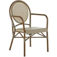 Outdoor Woven Gray Bistro Chair Manufactures