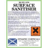 Buy cheap Restaurant & Catering BS EN1276 KITCHEN SURFACE DISINFECTANT - SANITISER - COOK SAFE from wholesalers