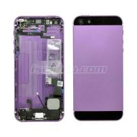 Battery Cover Complete For iPhone 5 Grade Purple-Black Manufactures