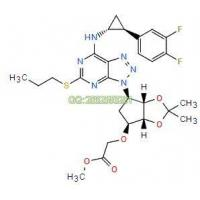 Acetic acid, 2-[[(3aR,4S,6R,6aS)-6-[7-[[(1R,2S)-2-(3,4-difluorophenyl)cyclopropyl]aMino]-5-(propylth Manufactures
