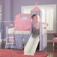 China Powell Princess Castle Twin Tent Bunk Bed (374069) on sale