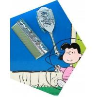 China Lucy Silver Plated Comb and Brush Set for Children on sale