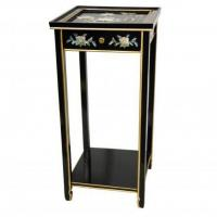 China Fine Lacquer Furniture Oriental Pedestal on sale