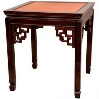 Tables & Chairs Rosewood Square Ming End Table - Two-tone Manufactures