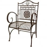 Tables & Chairs Rustic Garden Chair - Rust Patina Manufactures