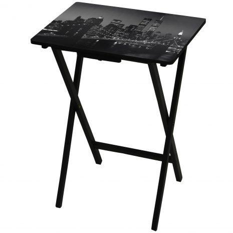 Quality Tables & Chairs Brooklyn Bridge TV Tray for sale