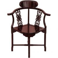 Tables & Chairs Rosewood Corner Chair - Rosewood Manufactures