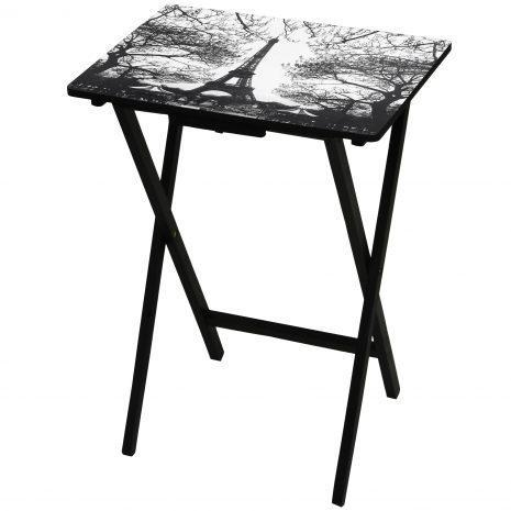 Quality Tables & Chairs Eiffel Tower TV Tray for sale
