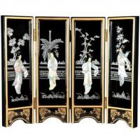 Buy cheap Fine Lacquer Furniture Mini Lacquer Screens from wholesalers