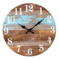 Buy cheap Wooden Retro brown clock SH-clock06 from wholesalers