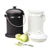 Buy cheap Black Ceramic Compost Pail from wholesalers