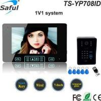 China video door phone price Saful TS-YP708ID 7 Video Door Phone With RFID Card on sale