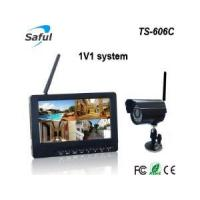 wireless video monitoring system TS-606C 1V1 wireless monitor system Manufactures