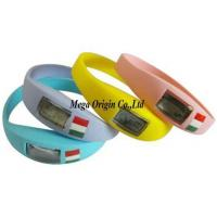 China Ion Silicone Sports Watch on sale