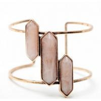European And American Fashion Personality Models Resin Rectangular Bullet Exaggerated Alloy Bracelet Manufactures