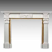 stone fireplaces with wood mantels