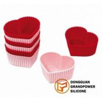 Heart Cup Cake Molds Manufactures