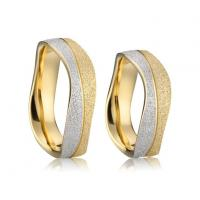 China Wholesale Stainless Steel Jewelry Cheap Wedding Rings Sets for Couples Anel on sale