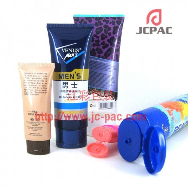 Quality Oval Plastic Tube, Shampoo Tube, Body Lotion Tube, Men's Cleansing Lotion Package for sale