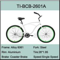 China TI-BCB-2601A Aluminium Frame Cruiser Bikes on sale