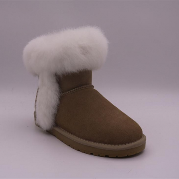 Quality Low-Tube Women Warm Snow Boots with Low Prices for sale